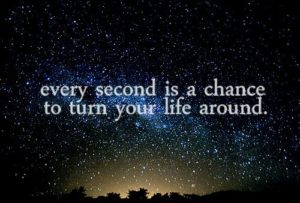 change in every moment